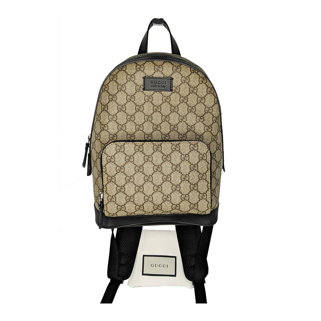 Gucci GG Supreme Canvas Eden Small Unisex Backpack