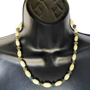 Fashion Vintage Assorted Colored Beaded Necklace