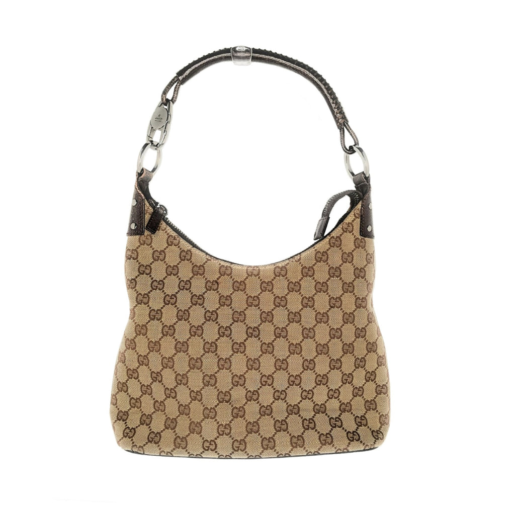 Gucci Vintage GG Supreme Canvas Hobo