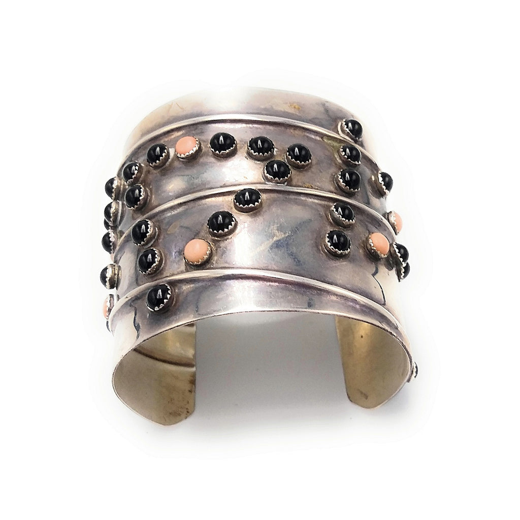 Old Pawn Multi stone SLEEK CUFF Bracelet