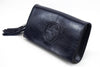 Gucci Blue Soho Patent Leather Clutch with Tassle