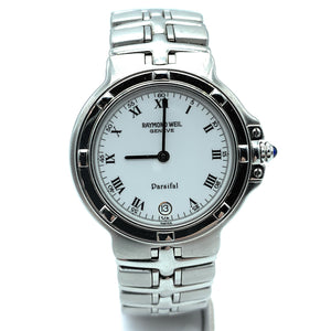 Raymond Weil 9195 Parsifal Stainless White Dial Quartz Watch