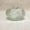 "LALIQUE Crystal ""NYMPHEAS"" Lily Pads Frosted Vase #12447"