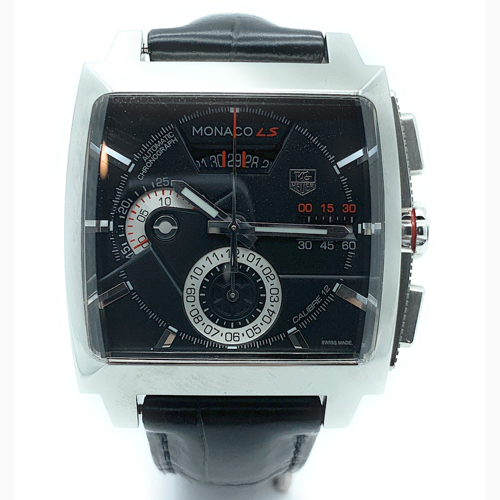 TAG Heuer Men's 'Monaco LS' Chronograph Automatic Watch - CAL2110.FC6257