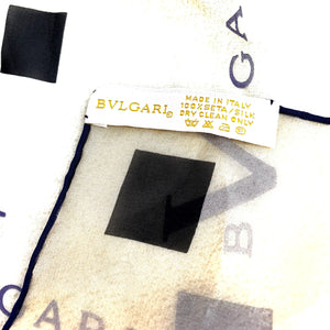 BVLGARI Ladies Silk Scarf/Wrap