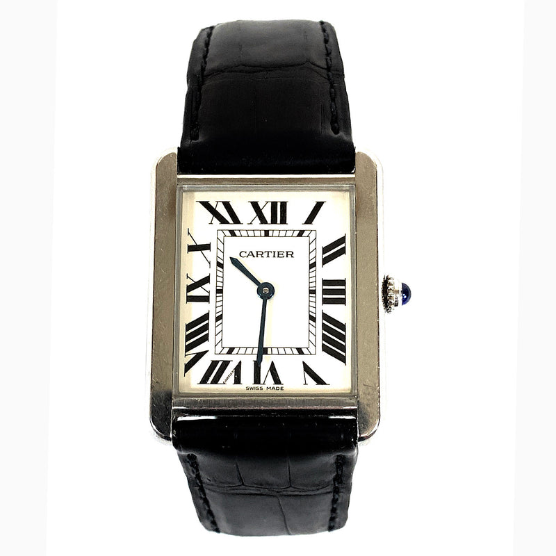 AUTHENTIC! Cartier Tank Solo Men's Watch - W5200003