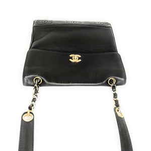 Chanel Vintage Caviar Leather Shoulder Bag