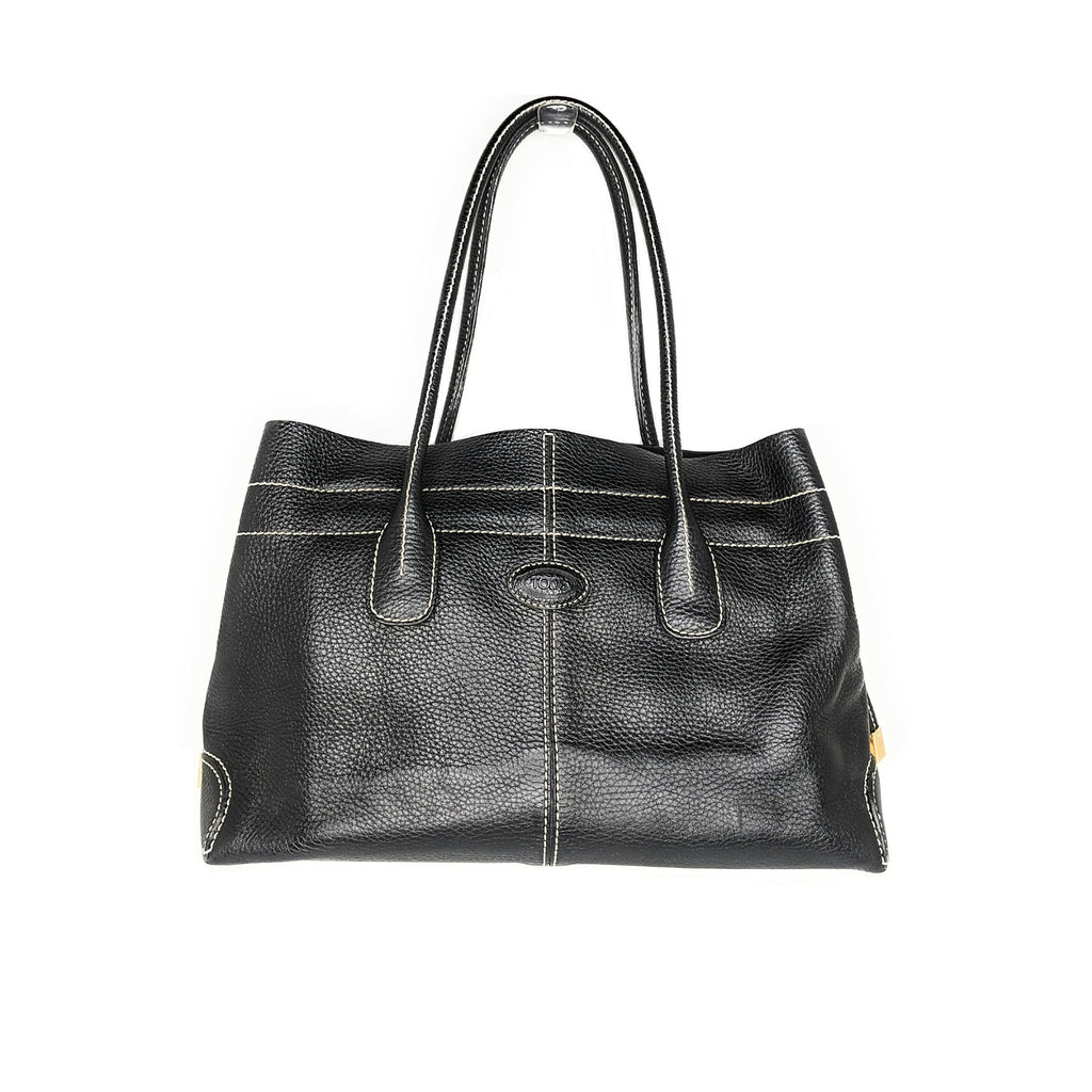 Tod's Black Genuine Leather D-Styling Bag