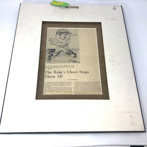Jackie Robinson Autographed 1952 All Star Newspaper Magazine Page / Ford Frick LOA