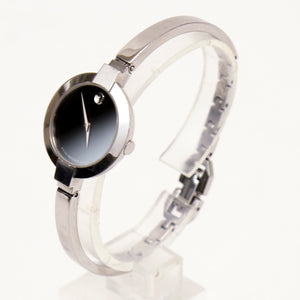 Movado Womens Watch Museum Collection Stainless Steel 84 A1 1830