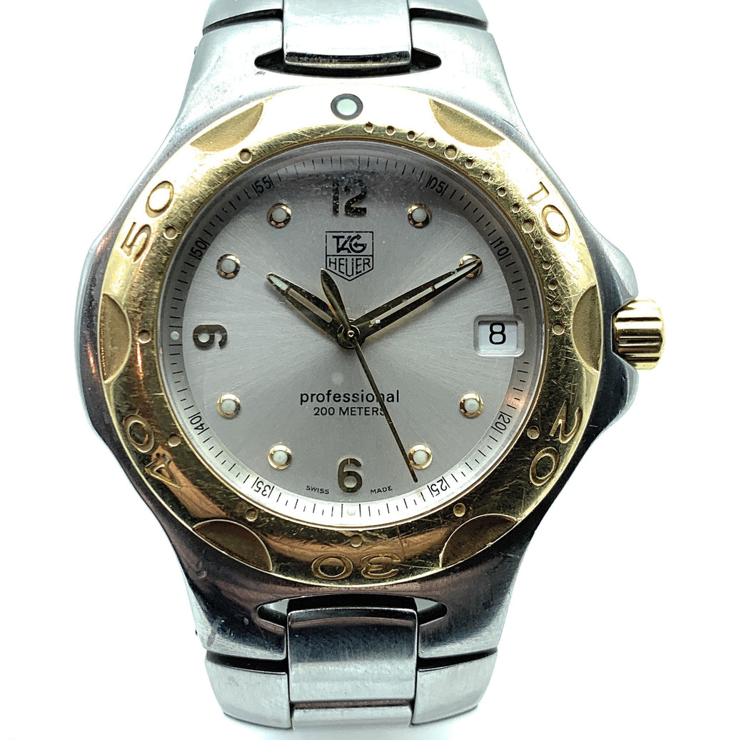 TAG Heuer Kirium WL1150 18K Gold Bezel & Stainless Steel Men's Watch