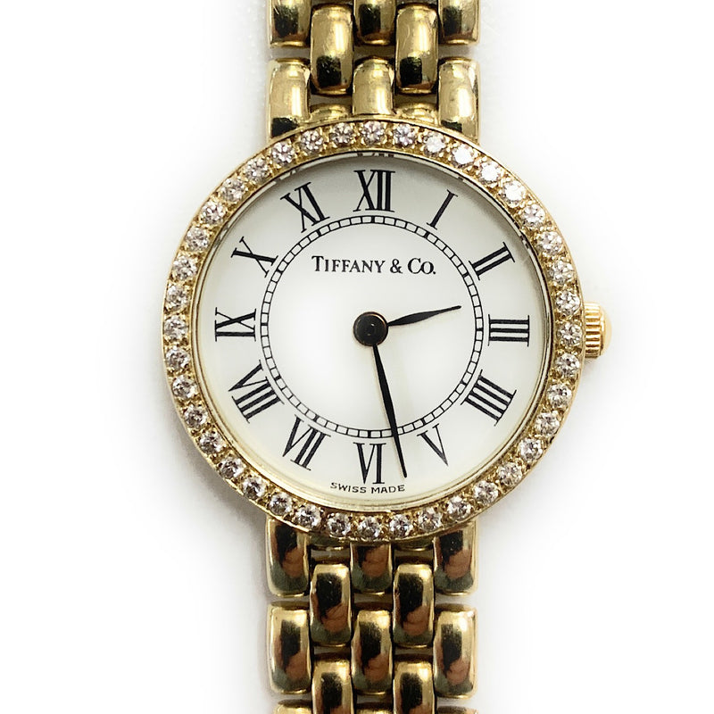 Tiffany & Co. Stainless Steel & 14k Yellow Gold Ladies Watch