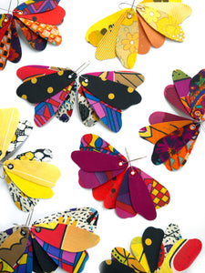 Butterfly Dangles - WARM COLOURS