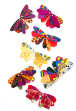 Load image into Gallery viewer, Butterfly Dangles - WARM COLOURS