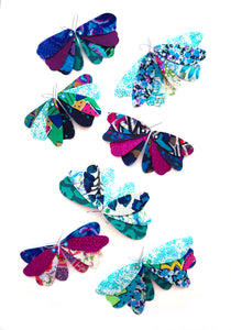 Butterfly Dangles - COOL COLOURS