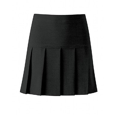 Pleated Skirt Black - Must Be Knee Length