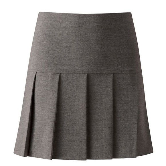 Pleated Skirt Grey