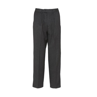 Putney Pleated Trouser Grey
