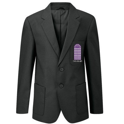 The Arches Boys Blazer Black With Logo