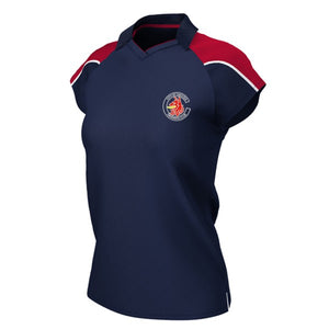Chester Swimming Female Polo Shirt Navy / Red