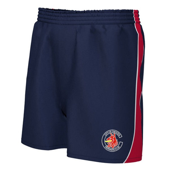 Chester Swimming Unisex Shorts Navy / Red