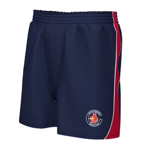 Chester Water Polo Unisex Shorts Navy / Red