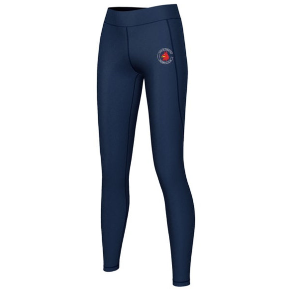 Chester Swimming Stretch Leggings Navy