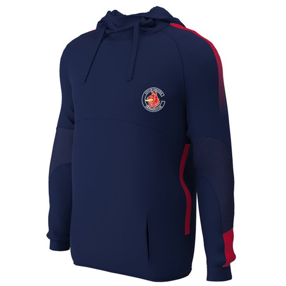 Chester Swimming Hoodie Navy / Red