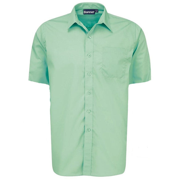 Short Sleeve Shirt (Twin Pack) Green