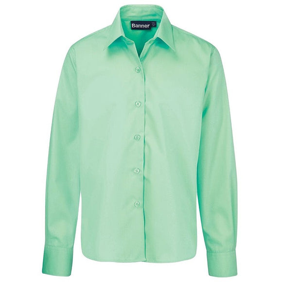 Long Sleeve Blouse (Twin Pack) Green