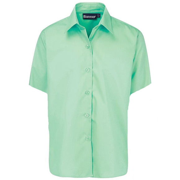Short Sleeve Blouse (Twin Pack) Green