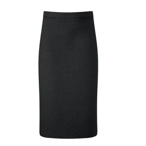 Luton Straight Skirt Black - Must Be Knee Length