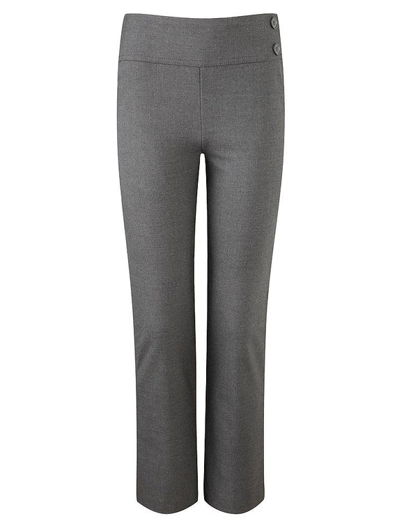 Girls Junior Trousers Grey