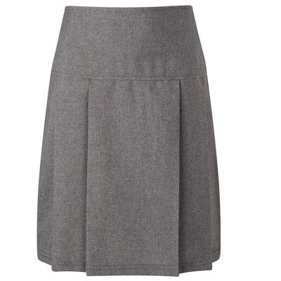 Banbury Pleated Skirt Grey