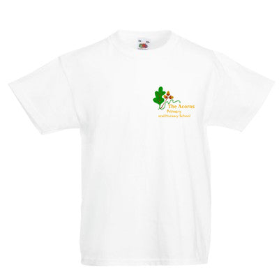 The Acorns Primary & Nursery PE T Shirt White