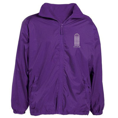 The Arches Rain Jacket Purple