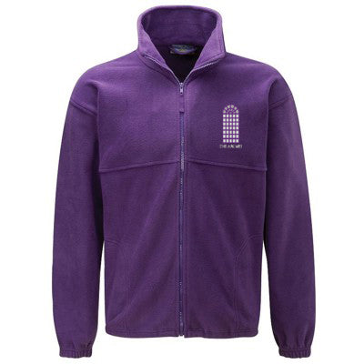 The Arches Fleece Purple