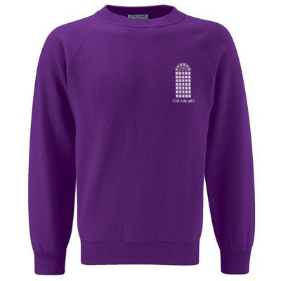 The Arches Sweatshirt Purple
