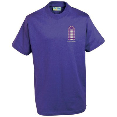 The Arches T Shirt Purple