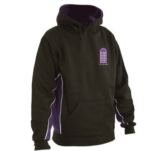The Arches Hoodie Black / Purple / White