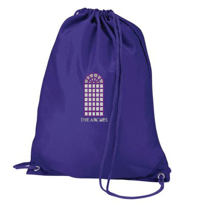 The Arches PE Bag Purple