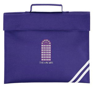 The Arches Book Bag Purple