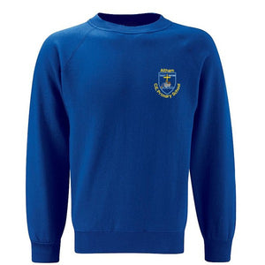 Altham St. James Crew Neck Sweatshirt Ocean