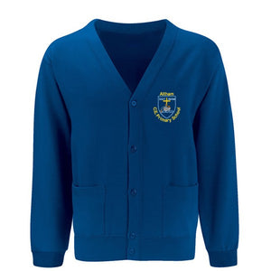 Altham St. James Cardigan Ocean