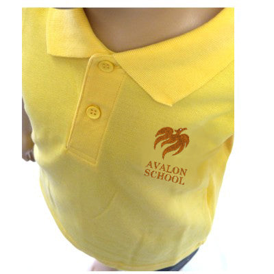 Avalon Polo Shirt Gold