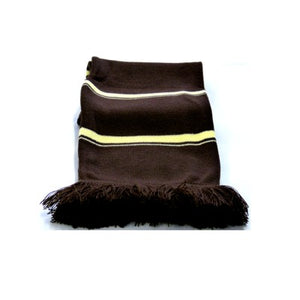 Avalon Striped Scarf Brown / Gold