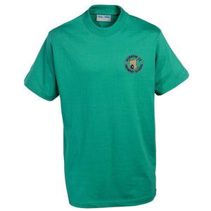 Barrow Primary PE T Shirt Jade