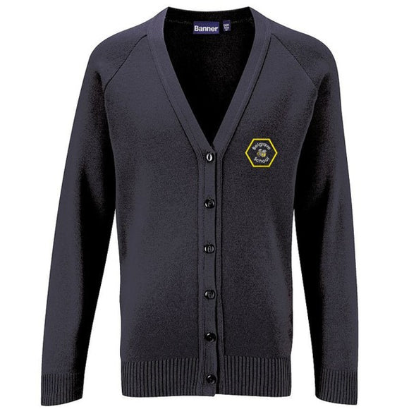 Belgrave Knitted Cardigan Black (3 Week Delivery)