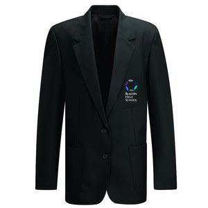 Blacon High Girl's Blazer Black