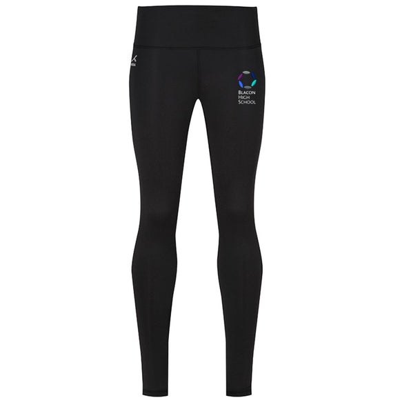 Blacon High PE Girl's Leggings Black